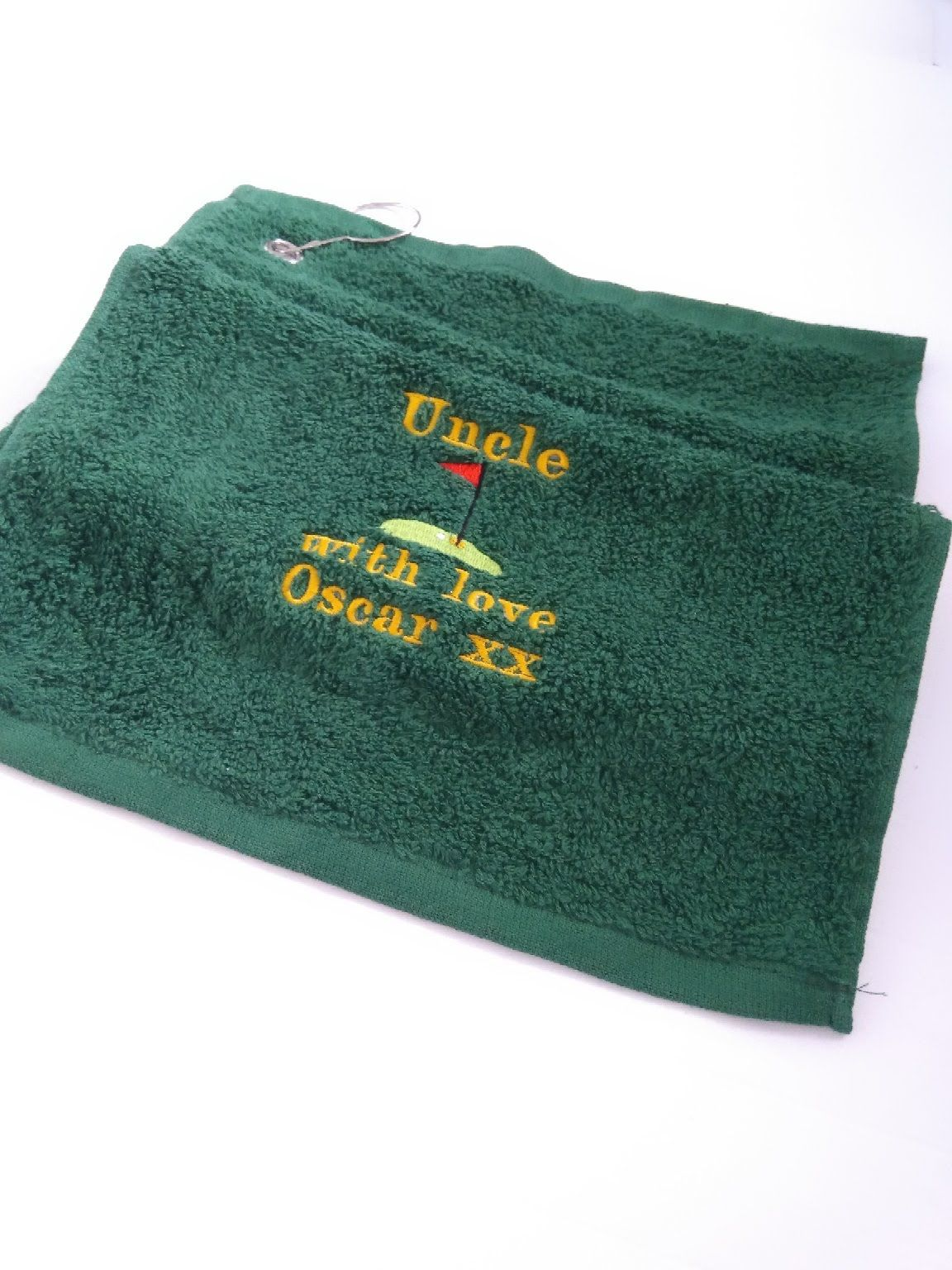 Personalised Golf Towel by Imprint Products