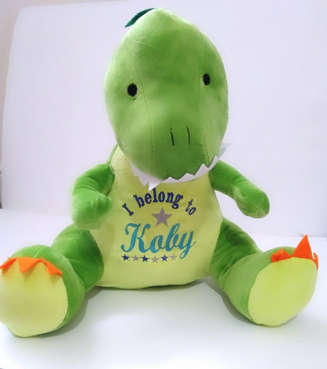 Personalised Soft Toy Dinosaur Teddy by Imprint Products