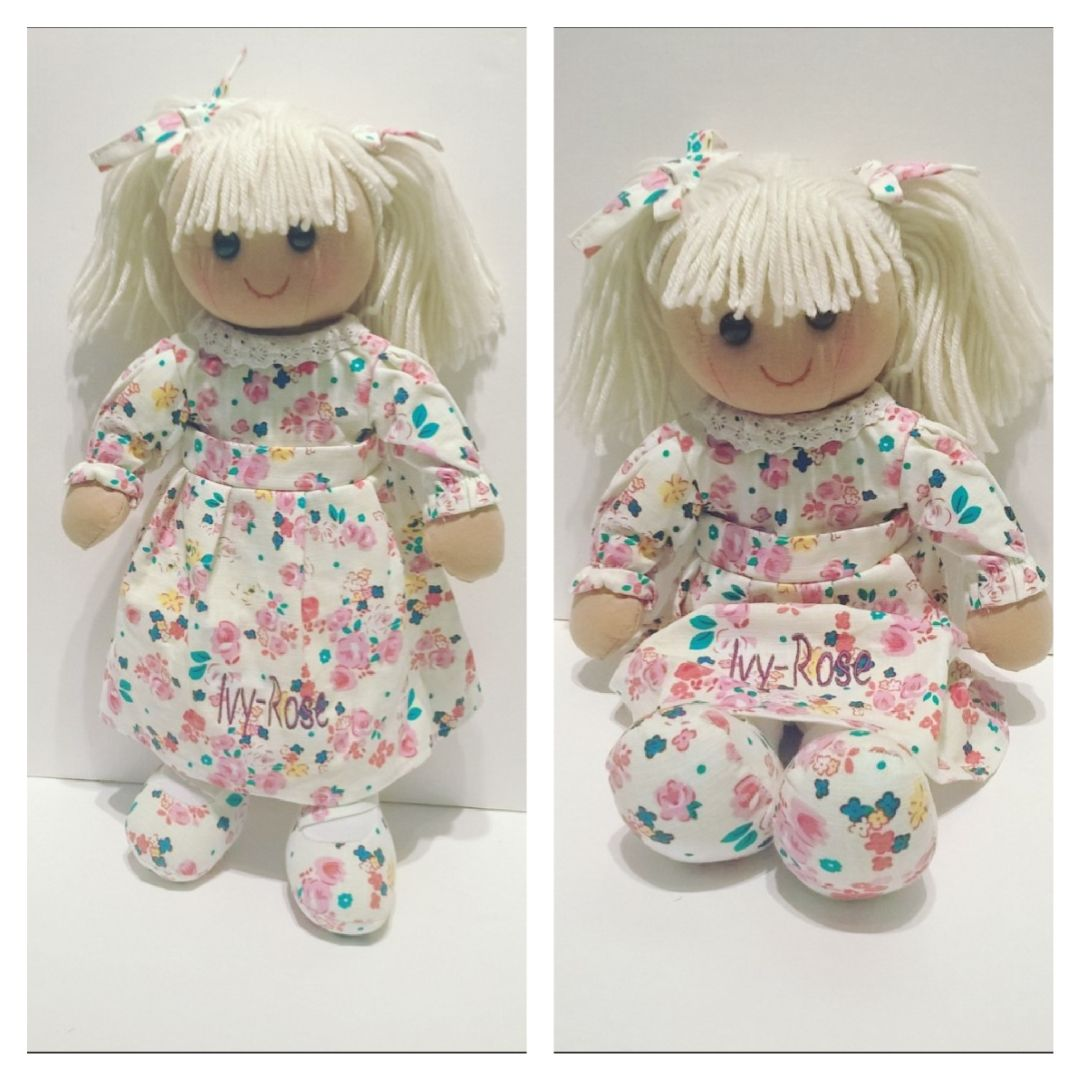 Personalised Rag Doll by Imprint Products