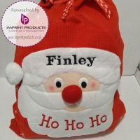 Personalised Starry Santa Sack
