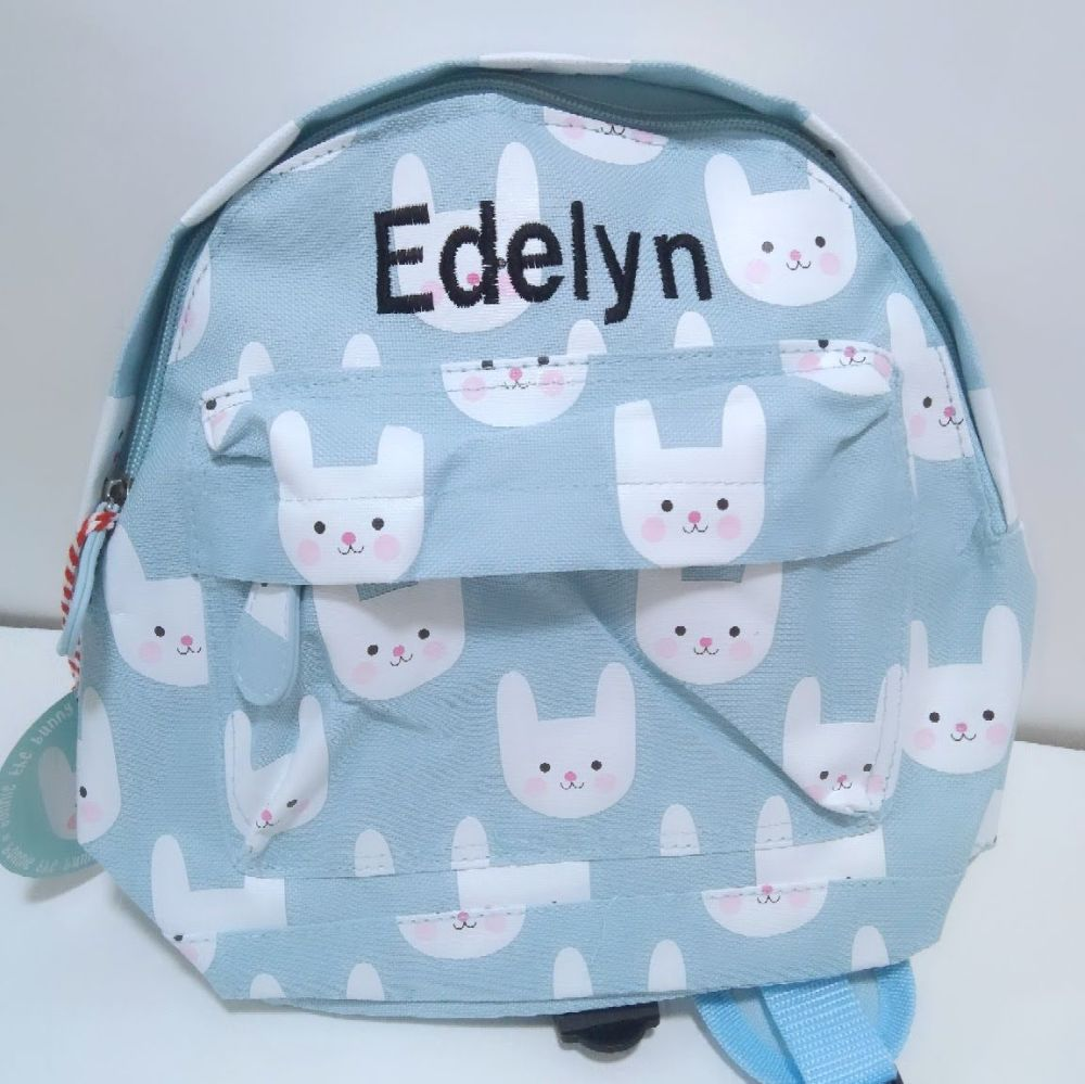 Personalised Child's Mini Bunny themed Backpack  | Toddler Backpack