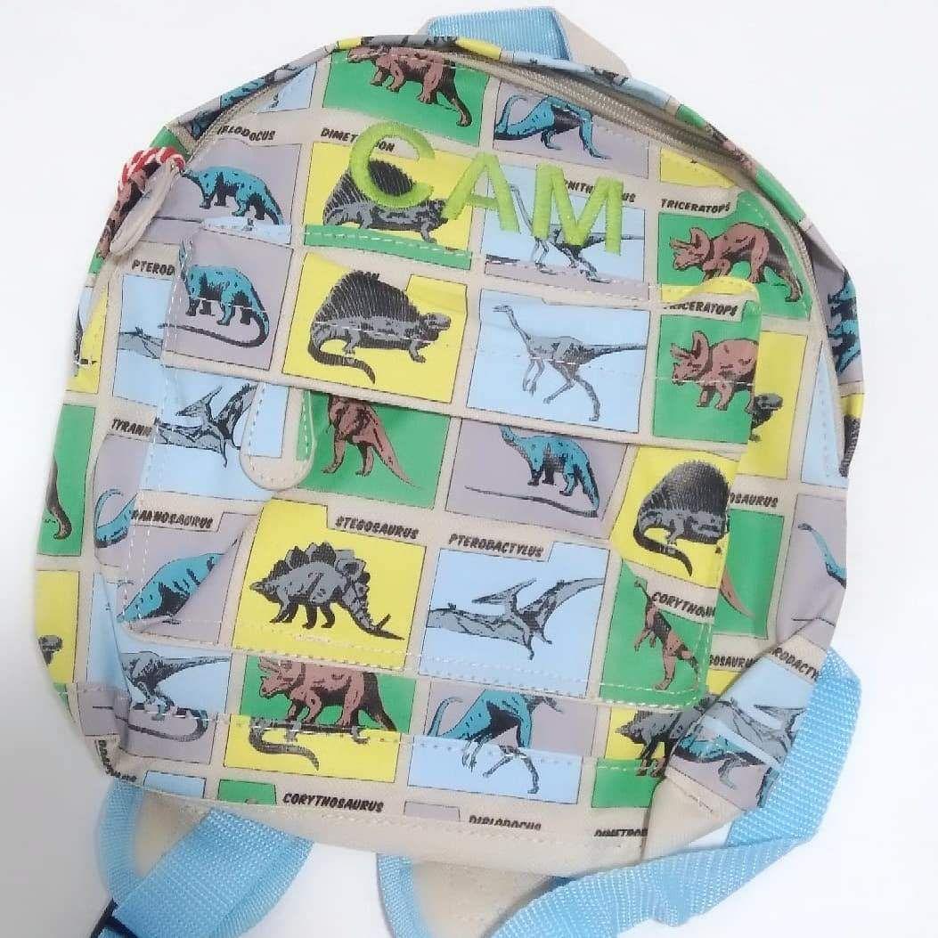 Personalised Child's Mini Dinosaur themed Backpack | Toddler Backpack