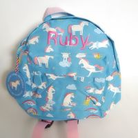 Personalised Child's Mini Unicorn themed Backpack
