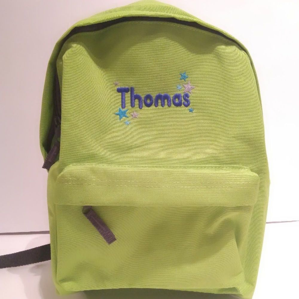 Personalised Child's Backpack Rucksack
