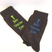 Best Teacher Ever - Novelty Socks