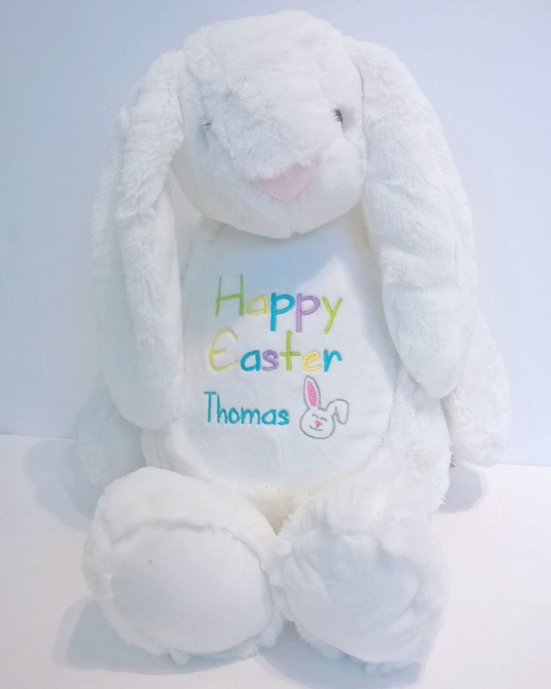 Happy Easter Personalised Bunny Soft Toy