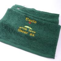 Personalised Golf Towel - Different colours available