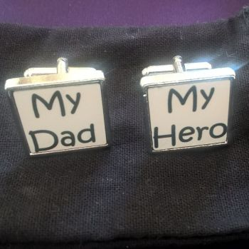 My Dad, My Hero Cufflinks
