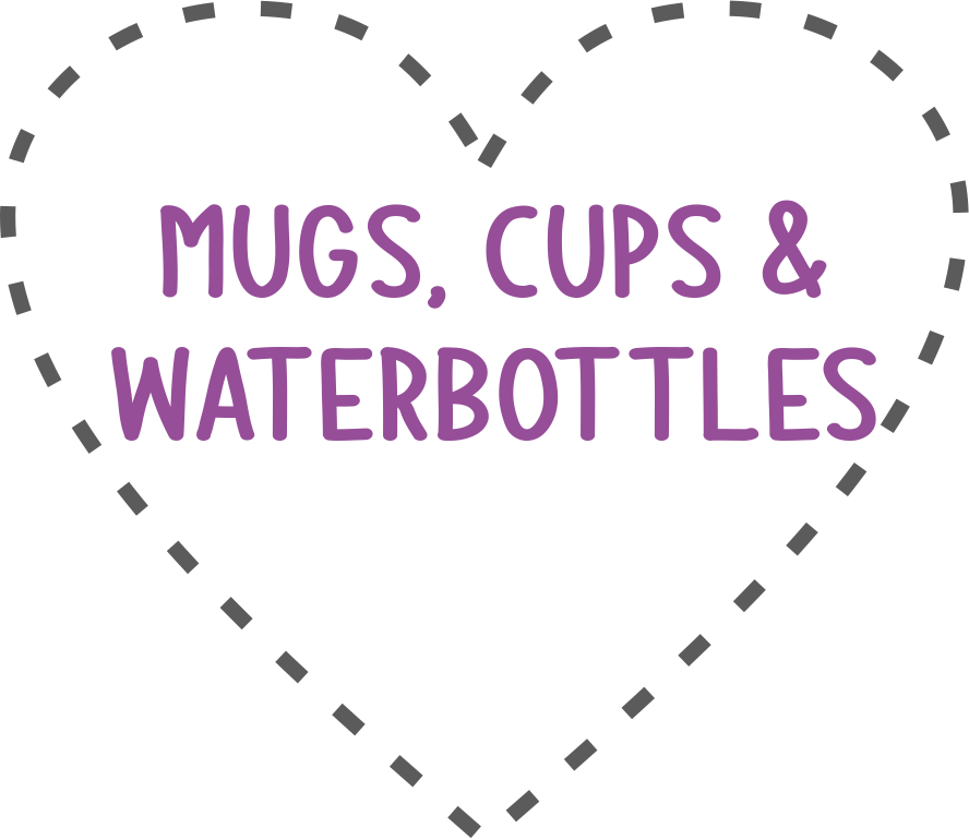 Mugs, Cups and Water bottles