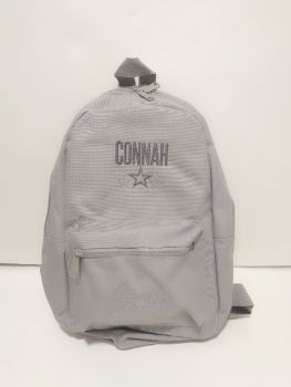 Grey Mini Fashion Backpack