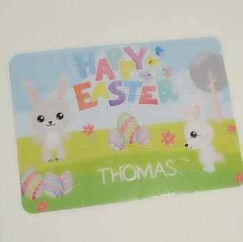 Personalised Easter Jigsaw - 12 or 63 pieces