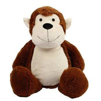 Personalised Monkey Teddy Soft Toy