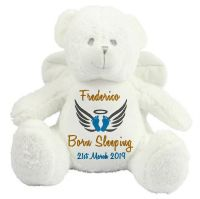 Personalised Angel Bear Teddy Soft Toy
