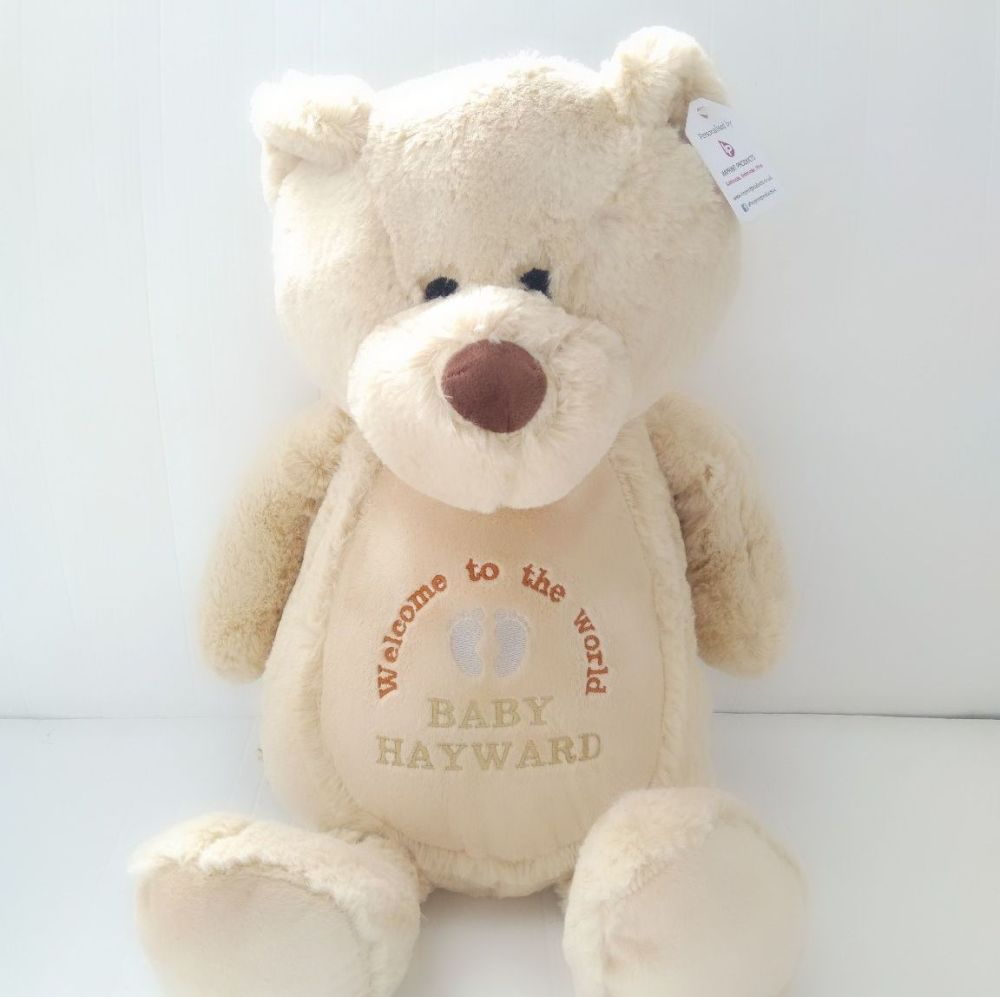 Personalised Brown Bear Soft Toy