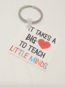Teacher Keyring Gift - Different Designs Available