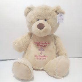 Christening Teddy Bear