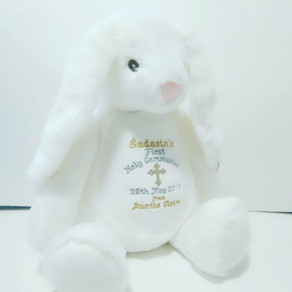 Holy Communion Bunny Soft Toy
