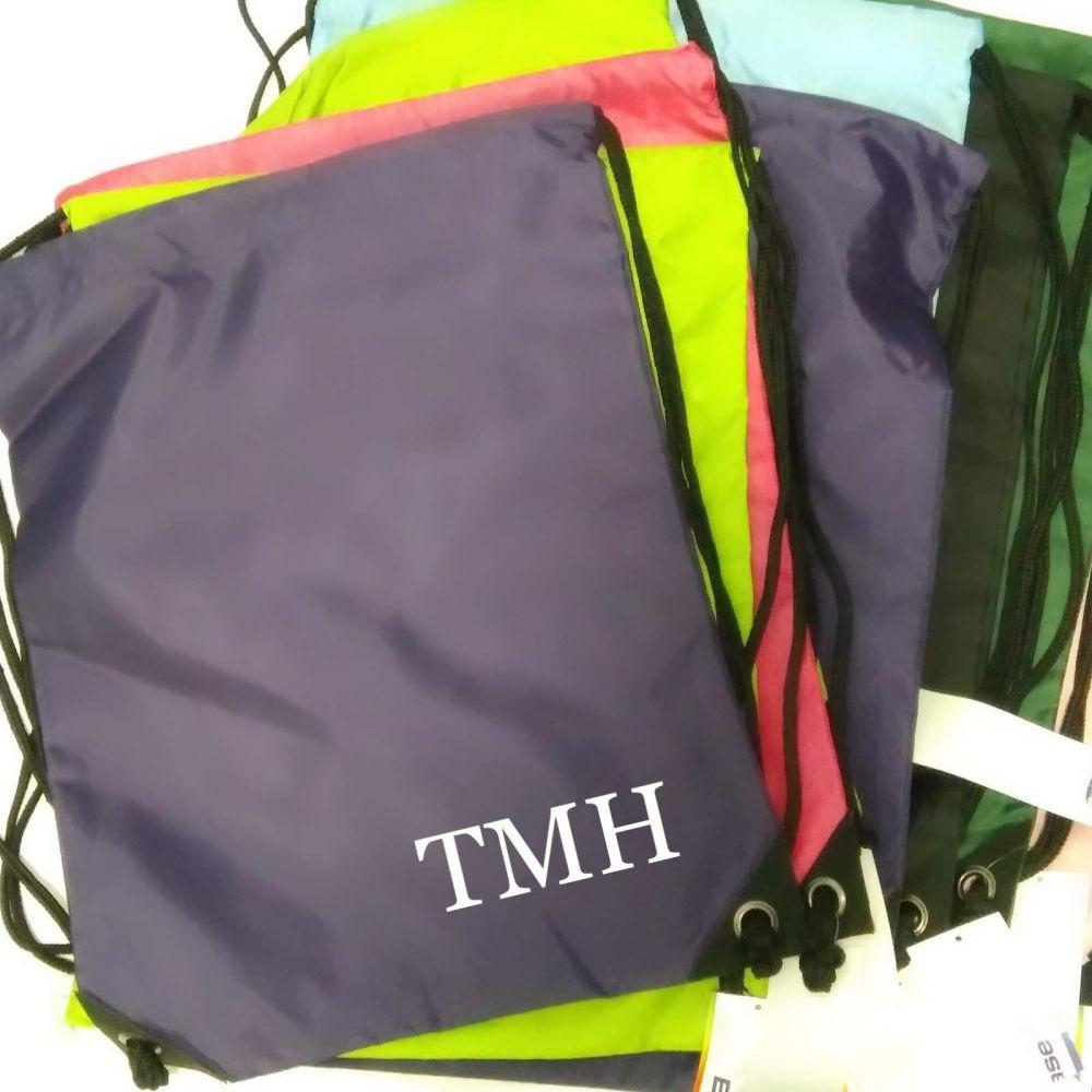 Fiver Friday Drawstring Bag