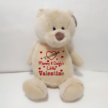 Mummy and Daddy's Little Valentine Brown Bear
