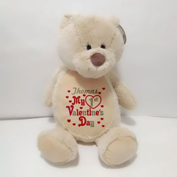 1st Valentine's Day Teddy Soft Toy