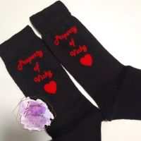 Personalised Property of  - Novelty Socks