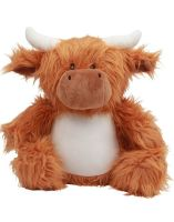 Personalised Highland Cow Teddy Soft Toy
