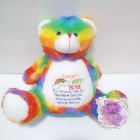 Rainbow Worry Bear