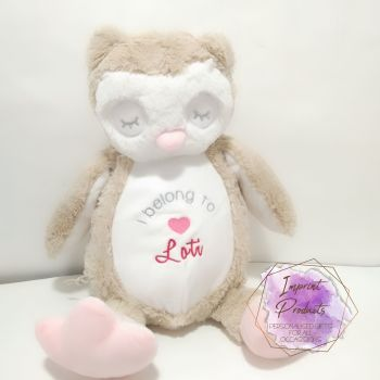 I belong to Owl Soft Toy