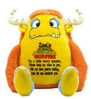Yellow Worry Monster Anxiety Toy
