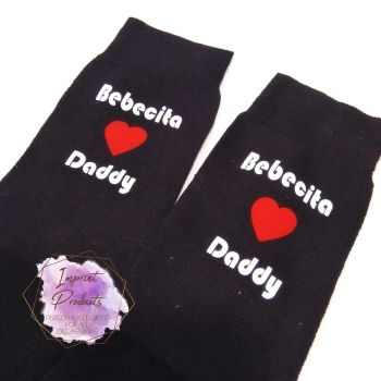 Love Daddy  - Novelty Socks