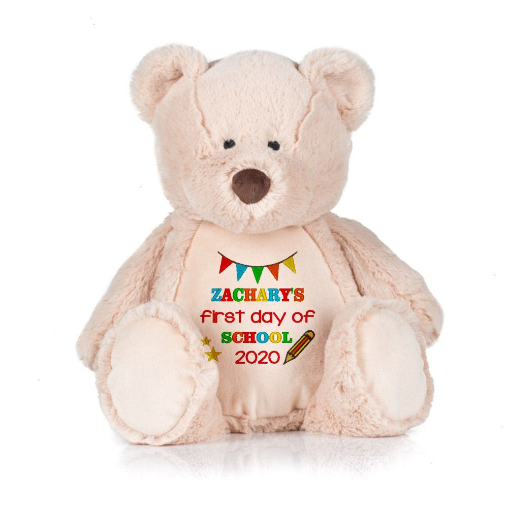 First Day of School Personalised Teddy