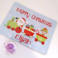 Personalised Christmas Train Jigsaw - 12 or 63 pieces