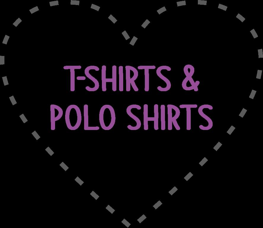 T-shirts, Polo Shirts