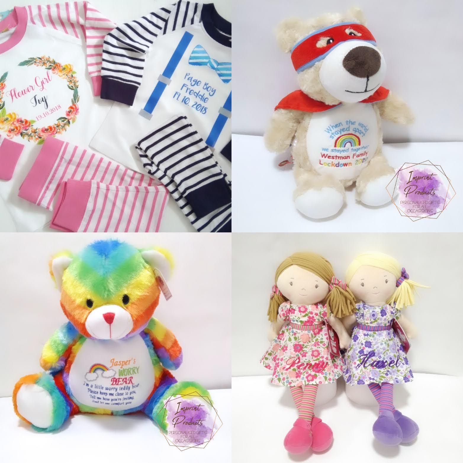 Personalised Keepsake Teddy Bears Cubbies New Baby Gifts