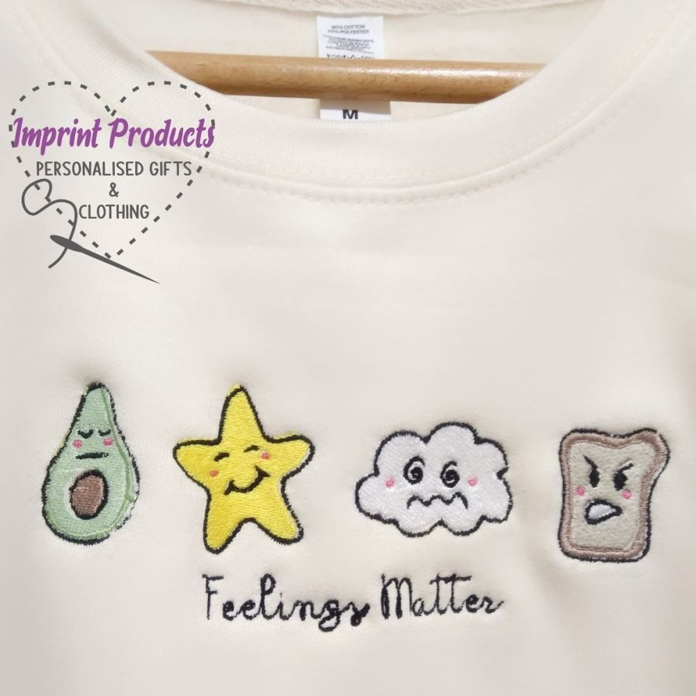 Feelings Matter Unisex Children's Sweatshirt