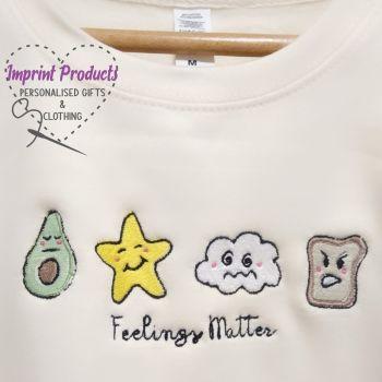 Feelings Matter Unisex Children's Sweatshirt