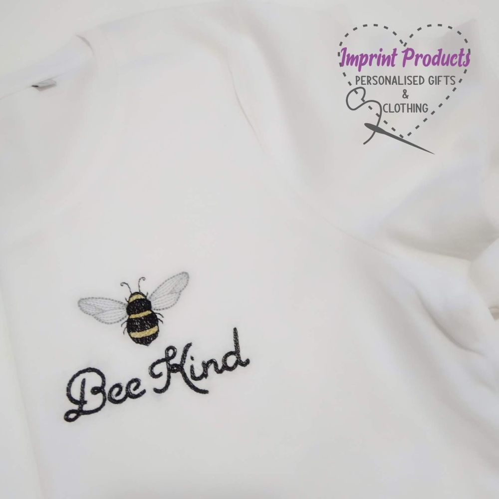 Be Kind Embroidered T-Shirt