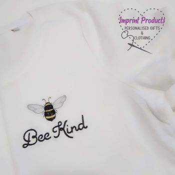 Bee Kind Embroidered T-Shirt