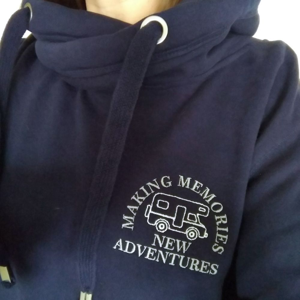 Making Memories New Adventures Motorhome Sweatshirt or Cowl Hoodie