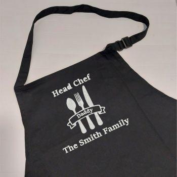 Head Chef Embroidered Apron
