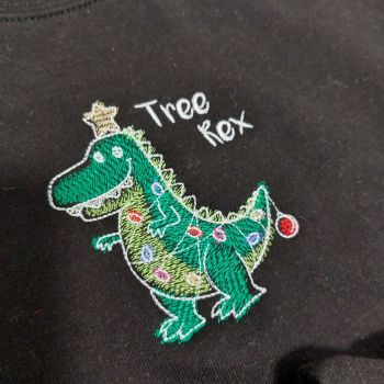 Tree Rex Christmas Jumper