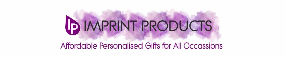 Imprint Products Personalised Gifts For All Occassions from Babies to Adults