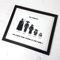 Star Wars Family Print