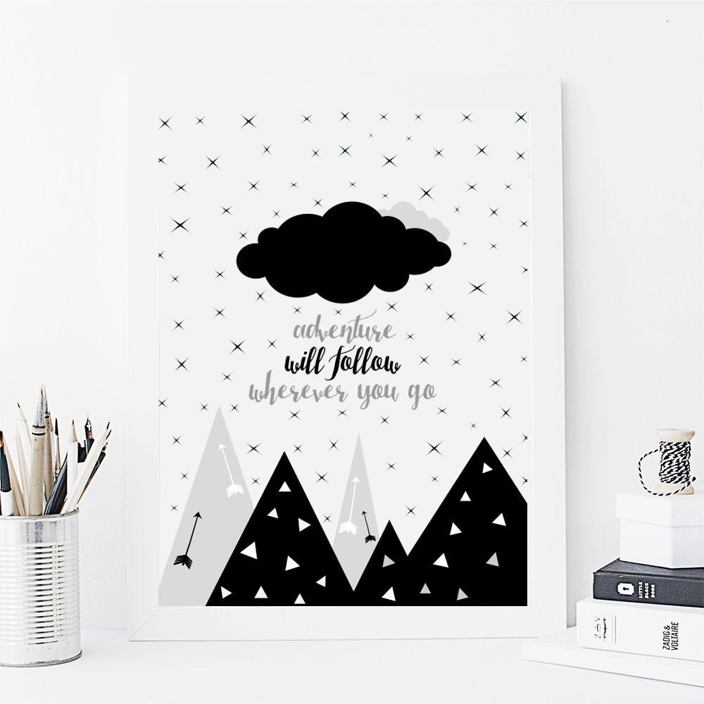 Adventure Will Follow print