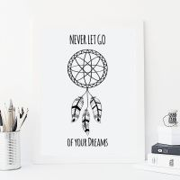 Never let go of your dreams print