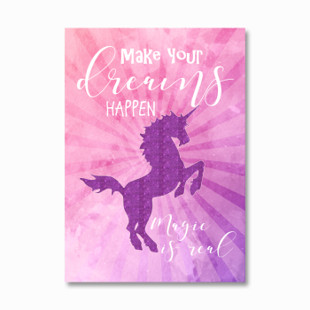 Make your dreams happen print