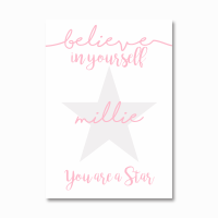 You are a star personalised print
