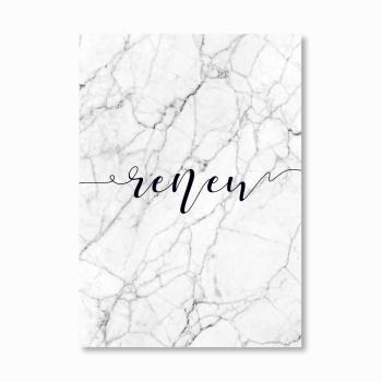 Renew Marble Print