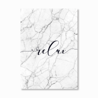 Relax Marble Print