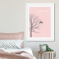 Love Birds Tree Print